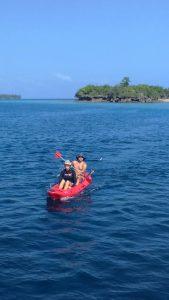 Zanzibar Kayaking in Pemba lagoon