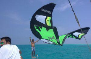 Zanzibar Kite Surfing Live Aboard at Mnemba Island