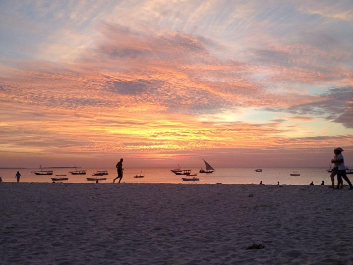 Zanzibar Sunsets in Nungwi with Zanzibar Yacht Charter.