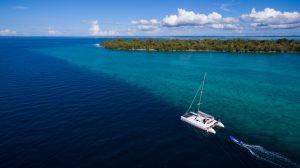 Pemba Island Yacht Live Aboard Cruising past Mesali Island