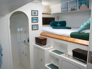 Private Double Cabins with Ensuite