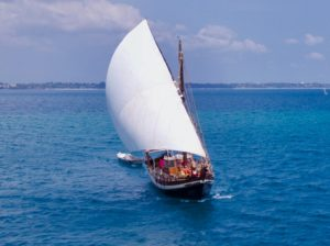 Traditional Dhow Sur Sailing